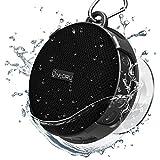 Onforu Mini Altavoz Bluetooth Ducha IPX7 Impermeable Speaker con 10 Horas de Reproducción, Mic Incorporado Sonido Estéreo V5.0 Speaker Inalámbrico con Ventosa Extraíble para Piscina Playa Baño Hogar