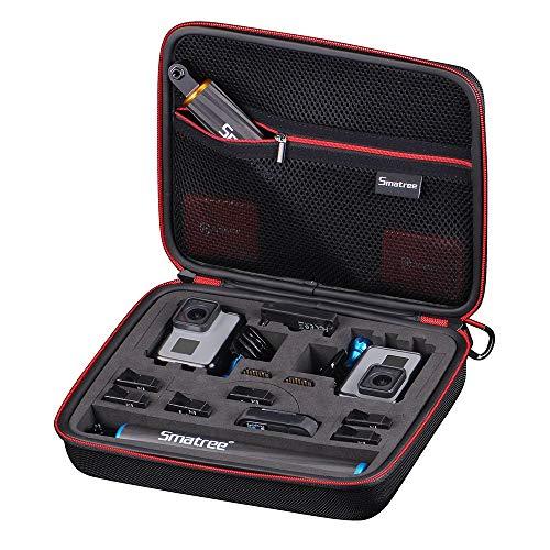 Smatree Smacase G260sl Tasche für DJI OSMO Action/Gopro Hero7/6/5/4/3/3+,Schwarz&Gelb(Kamera und Zubehör Nicht enthalten)