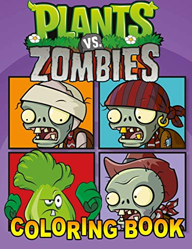 Plants vs Zombies Coloring Book: Great 31 Illustrations for Kids (2020)
