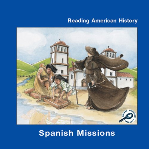 Spanish Missions audiobook cover art