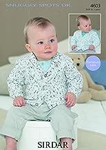 Sirdar Baby Cardigans Snuggly Spots Knitting Pattern 4603 DK