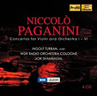 Paganini: Concertos Nos. 1-6 for Violin and Orchestra by Ingolf Turban (2014-09-09)