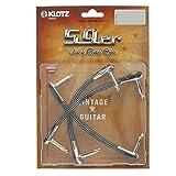 Klotz VINPAN0015 - Cables patch para pedales de guitarra