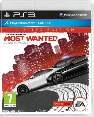 NEW & SEALED! Need For Speed Most Wanted Limited Edition Sony Playstation 3 PS3