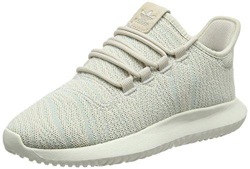 adidas Damen Tubular Shadow Gymnastikschuhe, Braun (Clear Brown/ash Green S18/off White), 37 1/3 EU