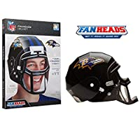 FanHeads Baltimore Ravens - Wearable NFL Replica Helmets – Pick Your Team!, Black