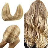 Best Tape In Hair Extensions - Wennalife Tape in Human Hair Extensions, 20pcs 50g Review