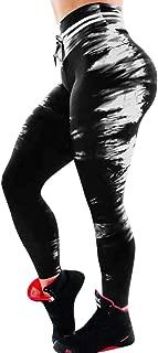 ZIMUUY Un Pantalon,2019 Pantalons de Sport en Cuir pour Femmes Danse de Rue//Yoga//Sport
