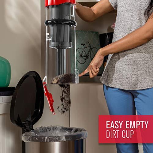 Dirt Devil UD20121PC Endura Lite Bagless Vacuum Cleaner, Red