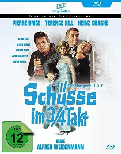 Schüsse im 3/4 Takt (Schüsse im Dreivierteltakt) - mit Pierre Brice & Terence Hill (Filmjuwelen) [Blu-ray]