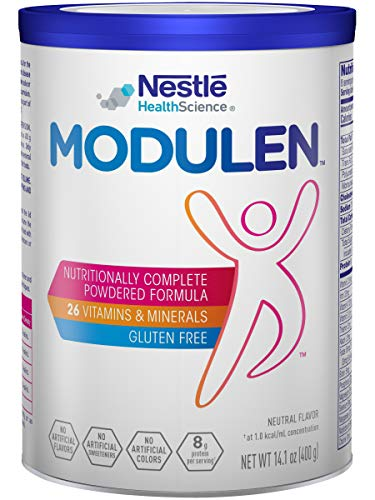 Modulen Nutritionally Complete Powdered Formula, Neutral Flavor, 14.1 OZ (Pack of 1)