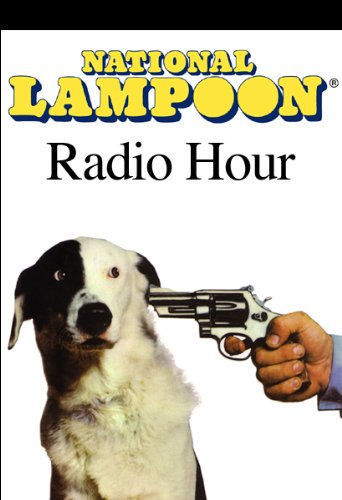 The National Lampoon Radio Hour audiobook cover art