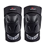 Lixada 1 Pair Cycling Knee Brace Bicycle MTB Bike Motorcycle Riding Knee Support Protective Pads Guards Outdoor Sports Cycling Knee Protector Gear