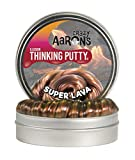 "Crazy Aaron's Thinking Putty 4"" Tin - Super Illusions Super Lava - Multi-Color Putty, Soft Texture - Never Dries Out"
