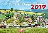 Modellbahn-Impressionen 2019: Kalender 2019 - VG-Bahn