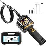 HOMIEE Caméra d'inspection numérique avec écran de contrôle LCD et Enregistrement vidéo, 3.2ft IP67 Tube de vidéoscope Endoscope étanche, 8 Niveaux de luminosité LED et diamètre 8mm