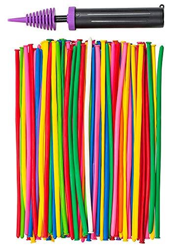 200 PCS Latex Twisting Balloons 260Q Magic Balloons Assorted Color...