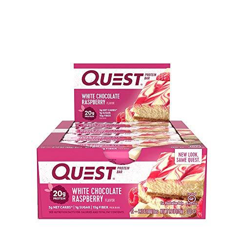 Quest Nutrition Quest Bar Protein 12 x 60 gr White Chocolate Raspberry