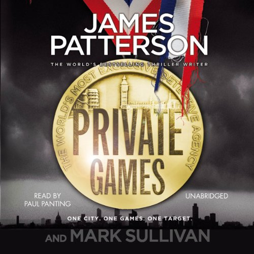 Private Games audiobook cover art