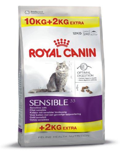 ROYAL FHN FELINE ADULT SENSIBLE 33 10KG+2KG