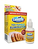 Conazol Toe Fungus Eliminator with Tolnaftate 1% Maximum Strength, CLINICALLY Proven to Cure and Prevent Foot Fungus NO-Touch APPLICATOR Helps Stop Infection 1 Fl oz Bottle.