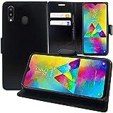 annaPrime Etui Coque Housse pour Samsung Galaxy M20 6.3' SM-M205F, Etui Portefeuille Support Video...