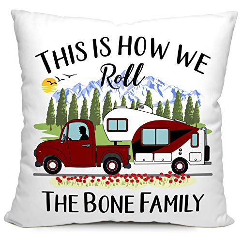Personalized Camping Pillow