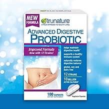 Trunature Advanced Digestive Probiotic (100 Capsules) 100Count