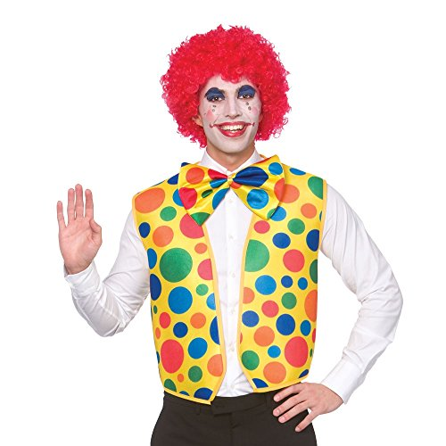 Clown Waistcoat & Bow Tie