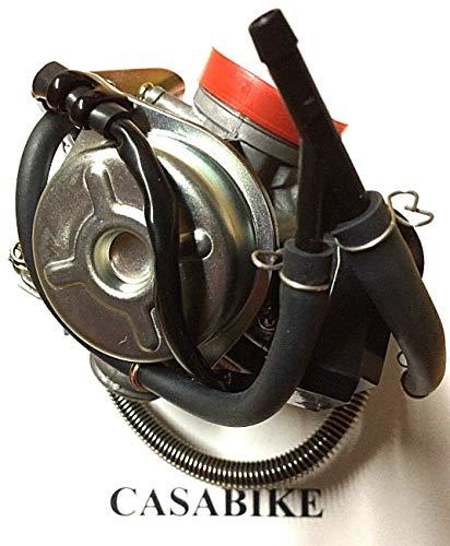 Carburador completo con E-Choke GY6 125/150 ccm Nova Roller 4 tiempos 152QMI 157QMJ