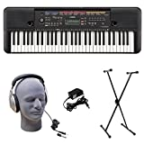 Yamaha PSR-E263 PKS 61-Key Premium Keyboard Pack with Stand, Headphones & Power Supply