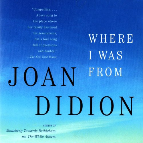 Where I Was From audiobook cover art