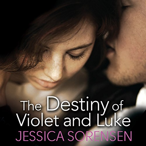 The Destiny of Violet and Luke audiobook cover art