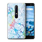 Stuff4 Phone Case for Nokia 6 2018 (6.1) Colour Holographic