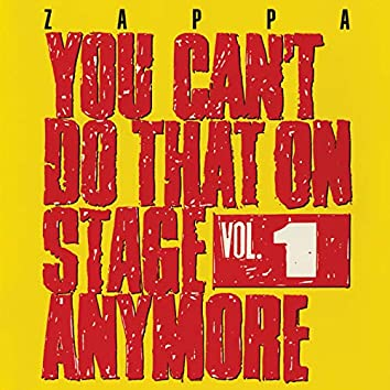 You Can't Do That On Stage Anymore, Vol. 1 (Live)