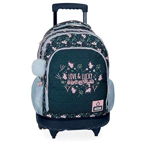 Mochila con ruedas Enso Love and Lucky 2R