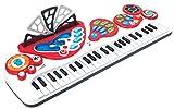 Winfun Kinder Keyboard mit Licht Aufnahmel