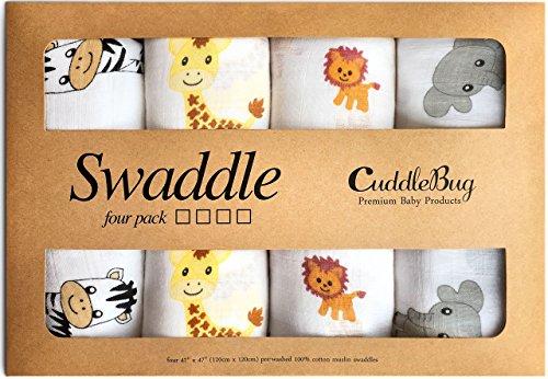 Muslin Baby Swaddle Blankets -