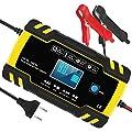 InThoor Chargeur de Batterie Intelligent 12V/24V 8A, 3…