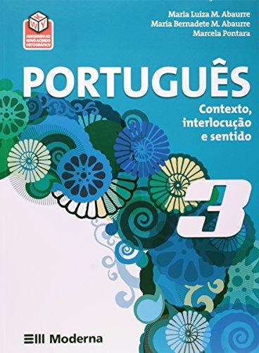 Português. Contexto, Interlocução e Sentido. 3º Ano