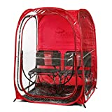 Under the Weather Red MyPodDoubleX Pop-up Weather Pod. The Original, Patented WeatherPod
