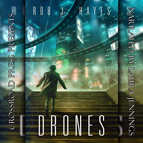 Drones audiobook cover art