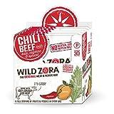 Wild Zora - Chili Beef - Meat and Veggie Bars (10-pack)