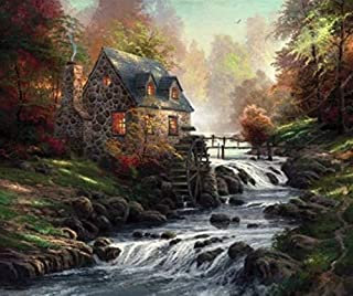 Ceaco Thomas Kinkade - Cobblestone Mill Puzzle - 1000 Pieces