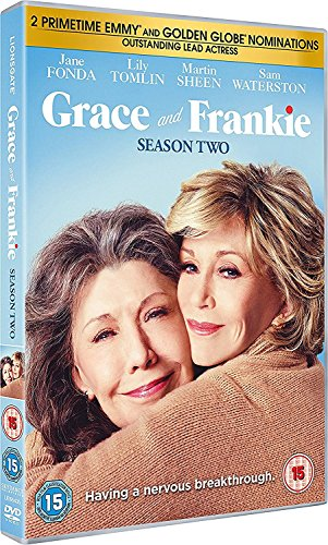 Grace And Frankie - Stagione 02 (3 Dvd) [Italia]