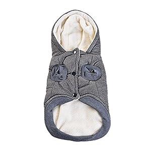 Roblue Vêtements Coton Veste Chien Veste à Capuche