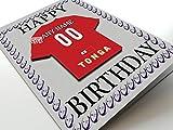 International de rugby à XV Aimant de réfrigérateur Cartes d'anniversaire–n'importe quel nom, n'importe quel Nombre n'importe quelle Équipe, Tonga International Rugby Fridge Magnet Card
