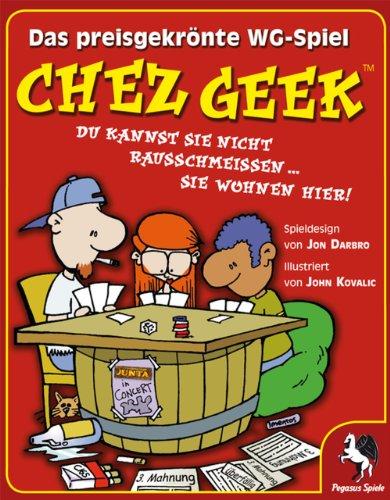 Pegasus Spiele 17300G - Chez Geek, das WG-Kartenspiel