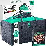 freegreen® Premium Einkaufstasche aus recycelten PET-Flaschen I 100% nachhaltig & umweltbewusst I...