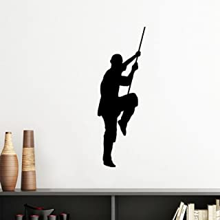 DIYthinker China Chinese Shaolin Stick Martial Art Monk Soldier Kung Fu Traditional Culture Illustration Pattern Silhouett...
